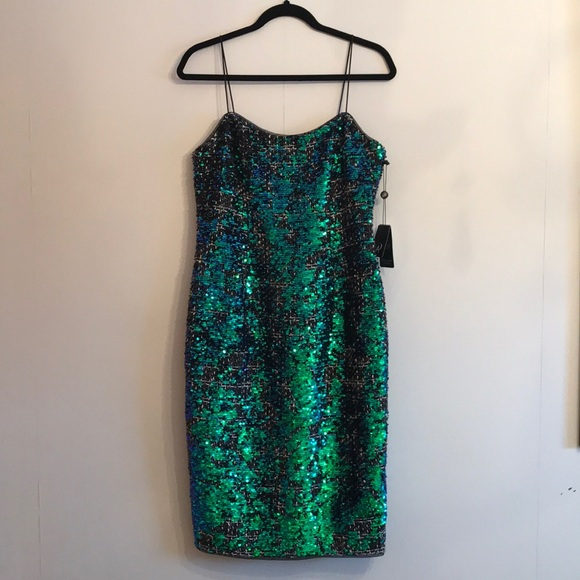 Adrianna Papell Dresses & Skirts - ADRIANNA PAPELL Dress Green and Blue